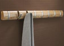 Umbra Flip crochet 8 crochet,bois BARRE avec Portemanteau Nature Baguette