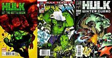 Hulk: Let the Battle Begin, Hulk: Winter Guard, Hulk: Team-Up Marvel - 3 Comics