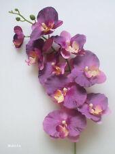 "1x 33"" Large Purple PHALAENOPSIS ORCHID, Artificial Silk Flower /S22"
