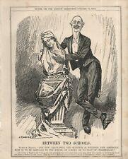 "L.RAVEN-HILL CARTOON -  BALFOUR AND A LANCASHIRE BUST - ""PUNCH"" (November 1909)"
