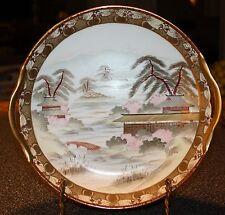 NIPPON - ROYAL KAGA -  Hand Painted & Gilded  CAKE PLATE