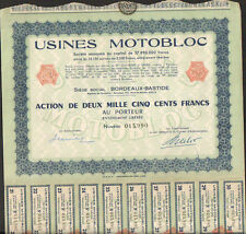Usines MOTOBLOC (BORDEAUX 33) (R)