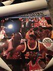 Vintage Learning To Fly Poster Michael Jordan Original Promo 🔥 Not Fleer Rookie