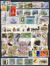Worldwide mnh vf topical stamp collection on 2 pages with singles, broken sets