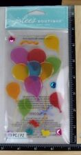 Jolee's VELLUM BALLOONS Boutique Stickers BIRTHDAY PARTY BALLOONS