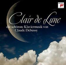 CLAIR DE LUNE-DIE SCHÖNSTE KLAVIERMUSIK VON DEBUSSY CD NEU DEBUSSY,CLAUDE