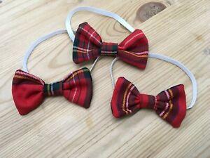 Royal Stewart Tartan Baby Boys Bow Tie