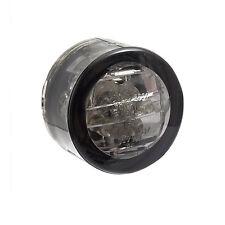 Micro-Blinker LED  turn signal, rund Smoke 20 mm für Custom, Chopper & Caferacer