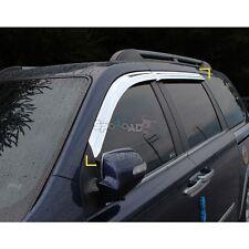 K-650 Chrome Window Sun Visor for Kia Sedona/Grand Carnival 2006-2010