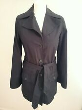 """BARBOUR blue  """"WASHED TWILL """"CATHERINE"""" COTTON COUNTRY COAT JACKET 8 36 RRP £170"""