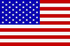 Flagge m. 2 Metallösen USA  Olympia 2016 Fussball 90 x 140 cm
