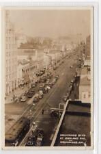 HOLLYWOOD BOULEVARD AT HIGHLAND AVENUE: California USA postcard (C31623)