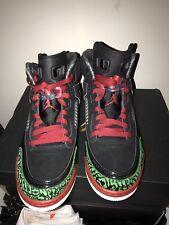 """Air Jordan Spizike OG Retro """"Green/Red/Black"""" Brand New Size UK8"""