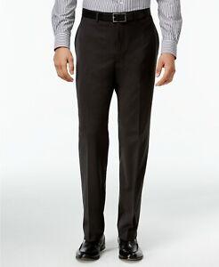 Calvin Klein Men's Pants Size 36x32 Charcoal Infinite Stretch Jerome