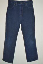 vintage 80s Wrangler Blue Corduroy Student Size Jeans Men'S Pants 29 X 27