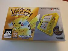 BRAND NEW Pikachu 2DS Yellow Special Pokemon Edition UK PAL