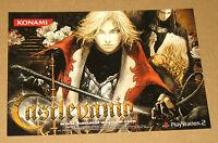 Castlevania very rare promo PostCard  Post Card Konami
