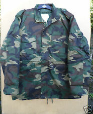 MANS WOODLAND CAMO COLD WEATHER FIELD COAT BASED ON U.S M65 JACKET -XXL ONLY
