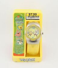 Painter SpongeBob Watch w/ Metal Case in Original Box w/ Yellow Band b1