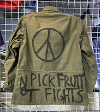 m43 field jacket Air Force Women 1973 OG107 Hippie