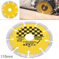 "4.5"" Dry Diamond Cutting Disc Saw Blade Disk Marble Tile Ceramic Concrete 115mm"