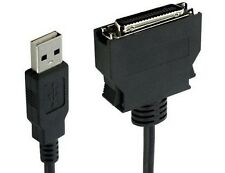 USB Mini Centronics Combo Cable Set Easy Installation Work Multi Function 5 Ft
