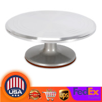 """12"""" Ball Bearing Sculpting Wheel Clay Banding Turntable Pottery Cake Spinner USA"""