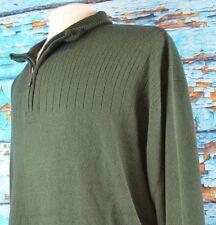 Geoffrey Beene Men's Half Zip Pullover Sweater Fleece Size 3XB NEW $85 Warm