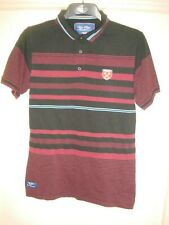 WEST HAM UNITED FC POLO LEISURE Football Shirt WHUFC - LARGE ADULT -Y15