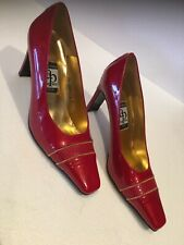Alan pinkus shoes Red Patent Leather Size 8