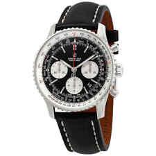 Breitling Navitimer 1 Chronograph Automatic Chronometer Black Dial Men's Watch