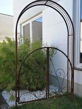 Edelrost Rosenbogen Rost  Rosenhilfe Garten Rost Rankhilfe New York H210cm