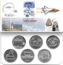 U.S. Air Force, NASA/SpaceX American Exceptionalism (6) Coin Commemorative Set