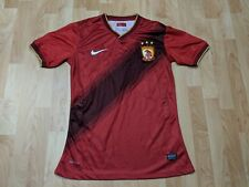 Nike Guangzhou Evergrande Futbol Soccer Jersey Size Large Red fits small