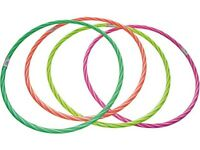 Hula Hoop 80cm Fluo GV-0272 8033641002722 Giaquinto Giocattoli S. R.l. Juguete