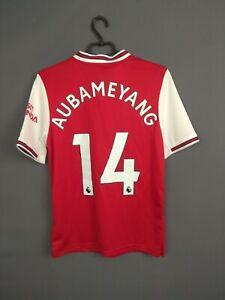 Aubameyang Arsenal Jersey 2019/20 Home Kids Boys 15-16 Shirt Adidas EH5644 ig93