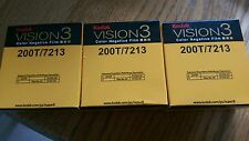 Kodak VISION3 200T/7213 Color Negative Film,Super 8 Price Per Box New Refridge