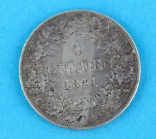 "1 Gulden BAYERN 1841 "" König Ludwig I. "" Silber Münzen TOP"
