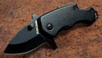Black Legion Dark Mini Multifunctional Assisted Opening Pocket Knife/Money Clip