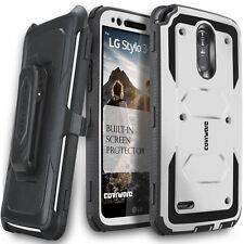 COVRWARE® [AEGIS] Full-Body Armor Rugged Holster Case w/ Screen For LG Stylo 3