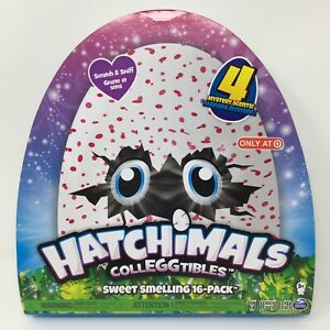 Hatchimals Colleggtibles Sweet Smelling 16 pack Scratch & Sniff 4 Mystery Scent!