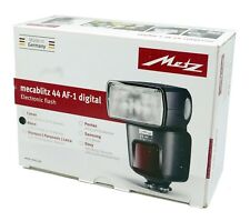 Metz Mecablitz 44 AF-1 Digital Flash for NIKON New In Opened Box FREE SHIPPING!