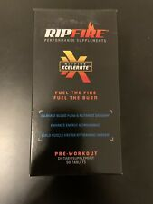 RipFire Pre Workout Energy Dietary Performance Supplement 90 Tablets NEW