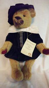 """NWT Limited Edition Hermann Spielwaren 16"""" William Shakespeare Teddy Bear"""