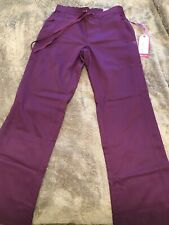 New listing Purple Label Healing Hands Stretch Modern Fit Taylor Scrub Pant Eggplant Size Xs