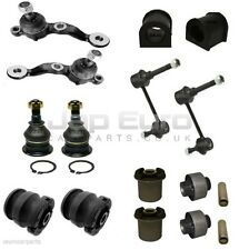 FOR LEXUS IS300 FRONT UPPER LOWER CONTROL ARM ANTI ROLL LINKS BUSHES BALL JOINTS