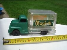 1950's Marx Marshall's Drug Store Delivery Van Truck vintage store promotional