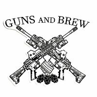 GUNS AND BREW Vinyl Decal / Sticker 3.5X3.5""