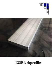 Aluminium Flachmaterial Alu Flach Alublechstreifen Abdeckleisten Bodenleisten