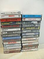 LARGE LOT OF NEW WAVE & '80'S ALTERNATIVE CASSETTES
